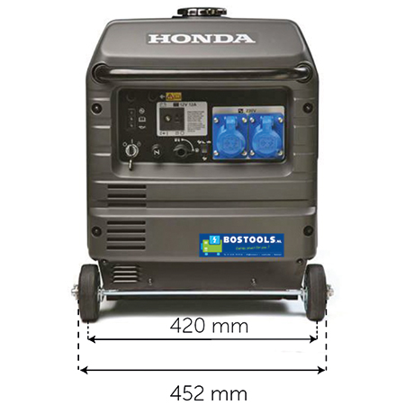 Honda EU30IS inverter benzine generator (2)