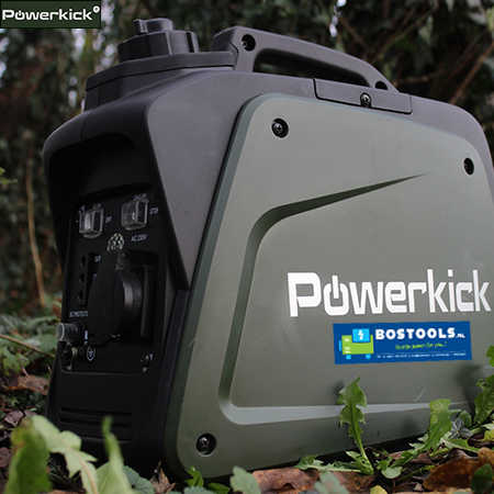 Powerkick 800 outdoor inverter benzine aggregaat (5)