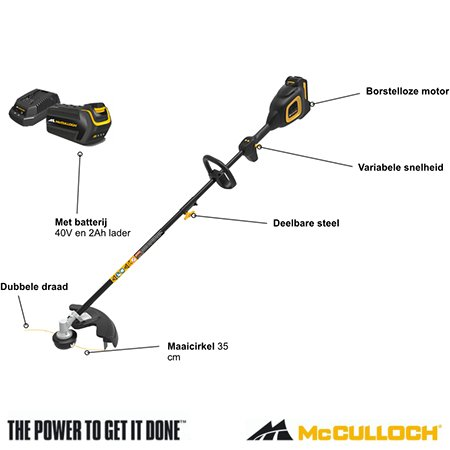 McCulloch Accu Trimmer (2)